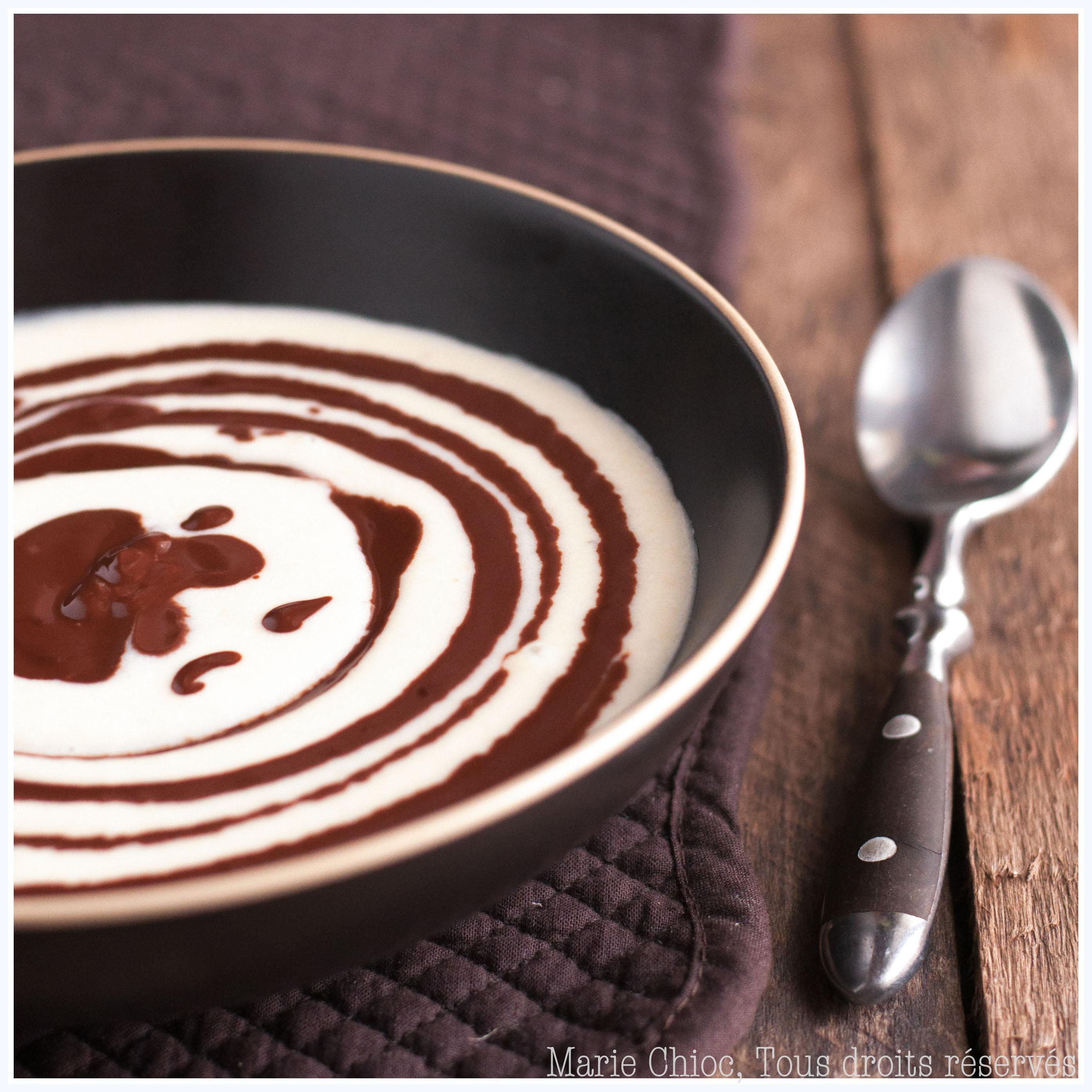 automne soupe de poires à la crème d'amande et chocolat chaud-2-2-2