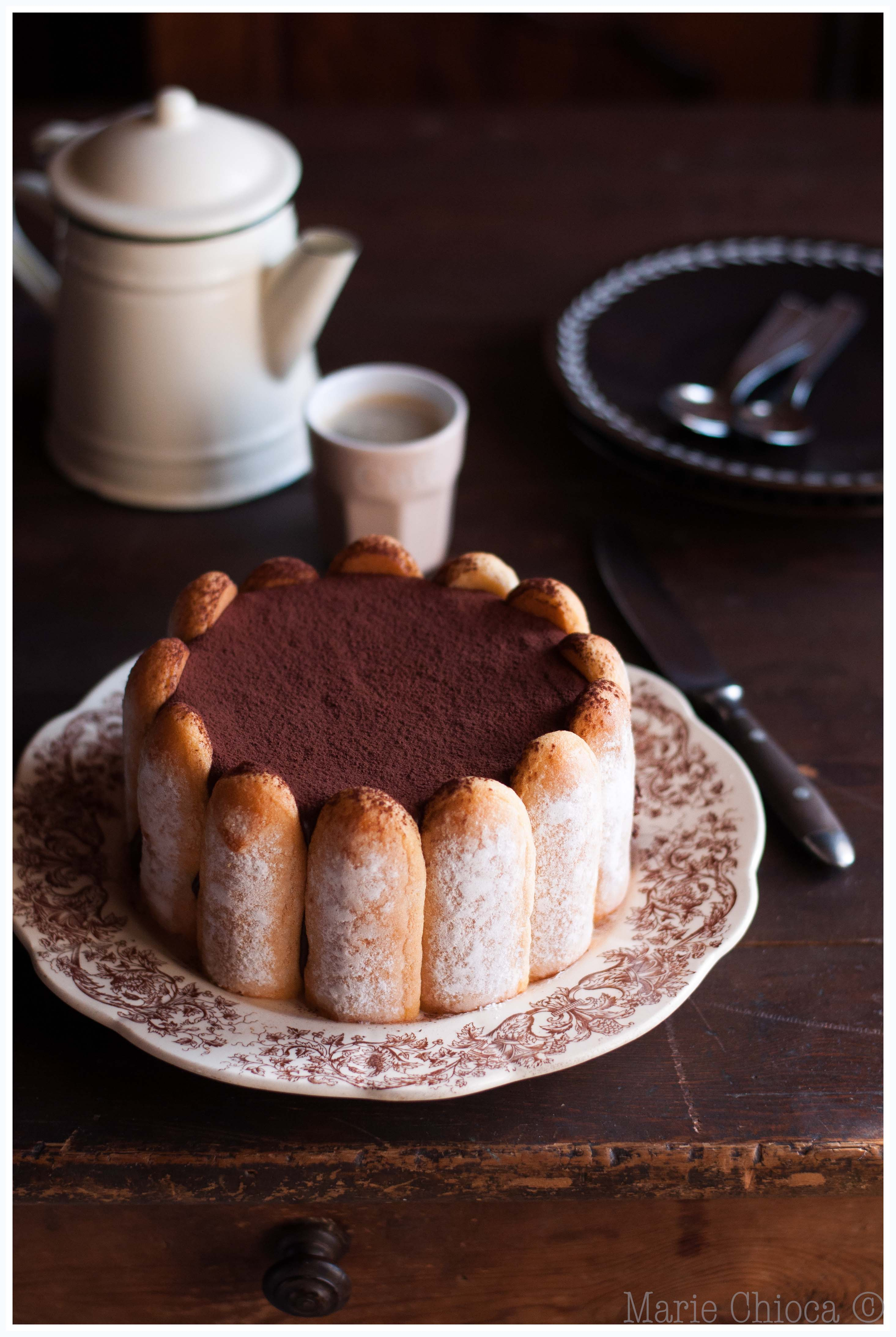 14 Charlotte intensément chocolat, pointe de café_