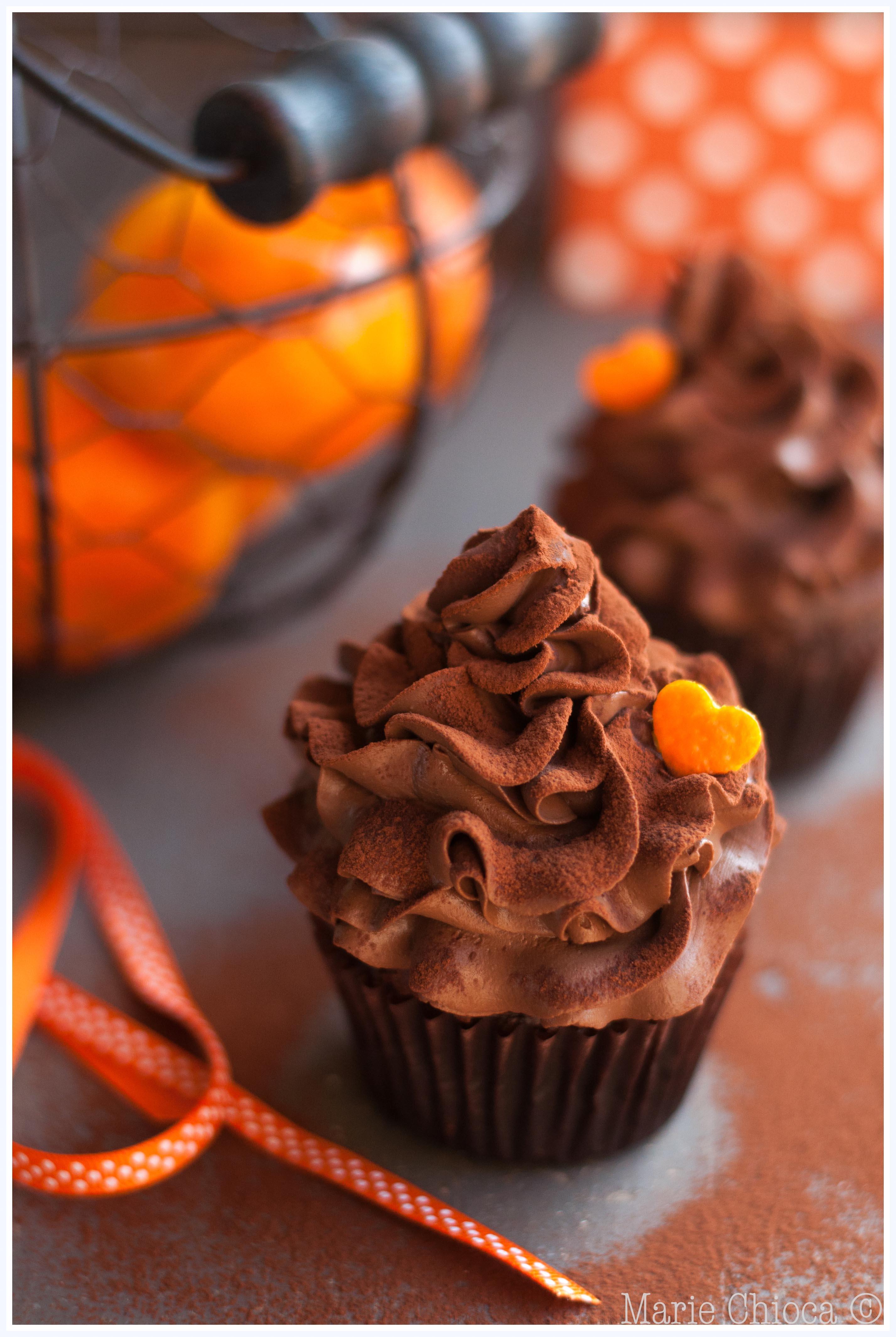 23 Cupcakes chocolat-mandarine au Grand-Marnier 2-2-2