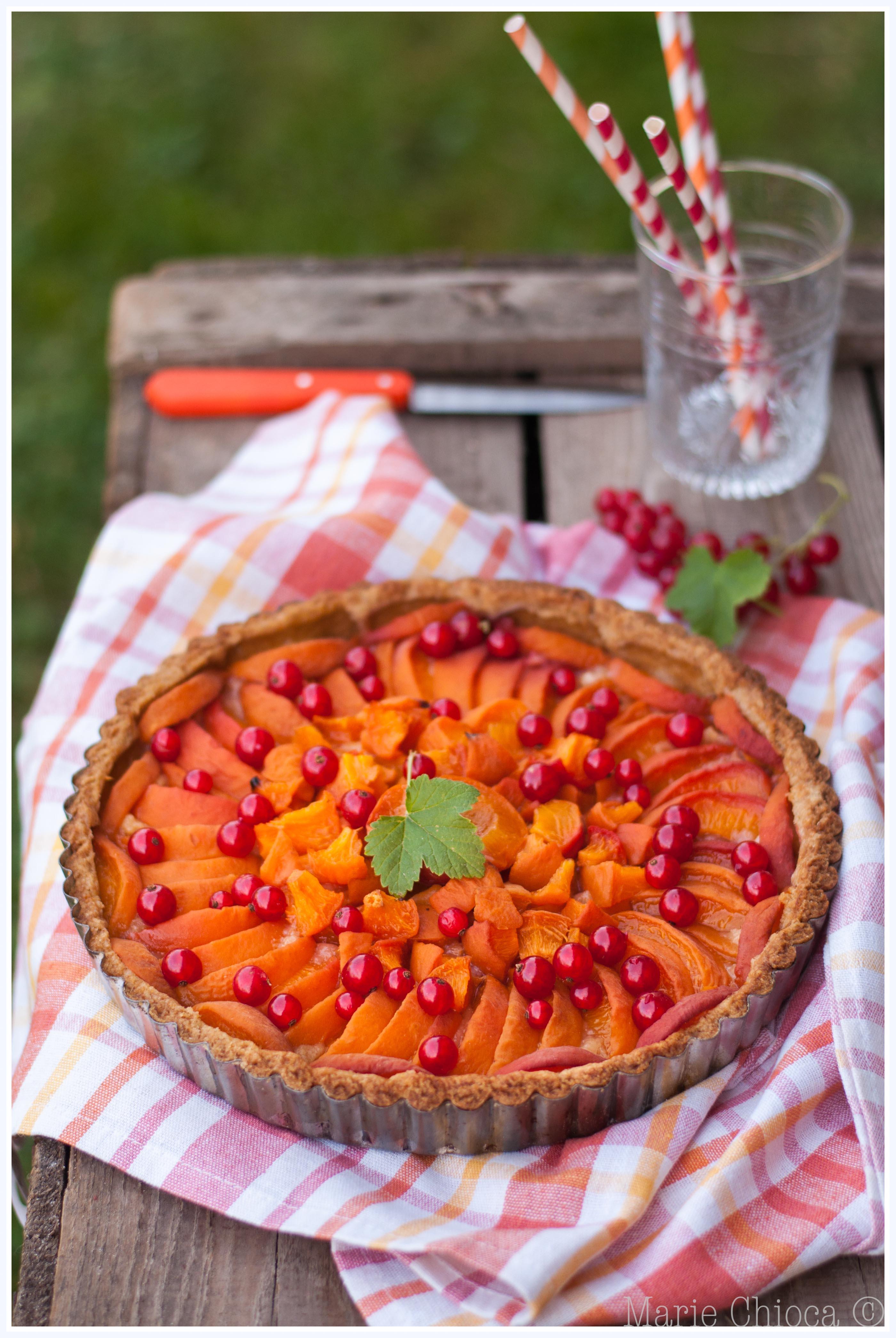 4 Tarte aux abricots, huile d'olive et petit épeautre-2