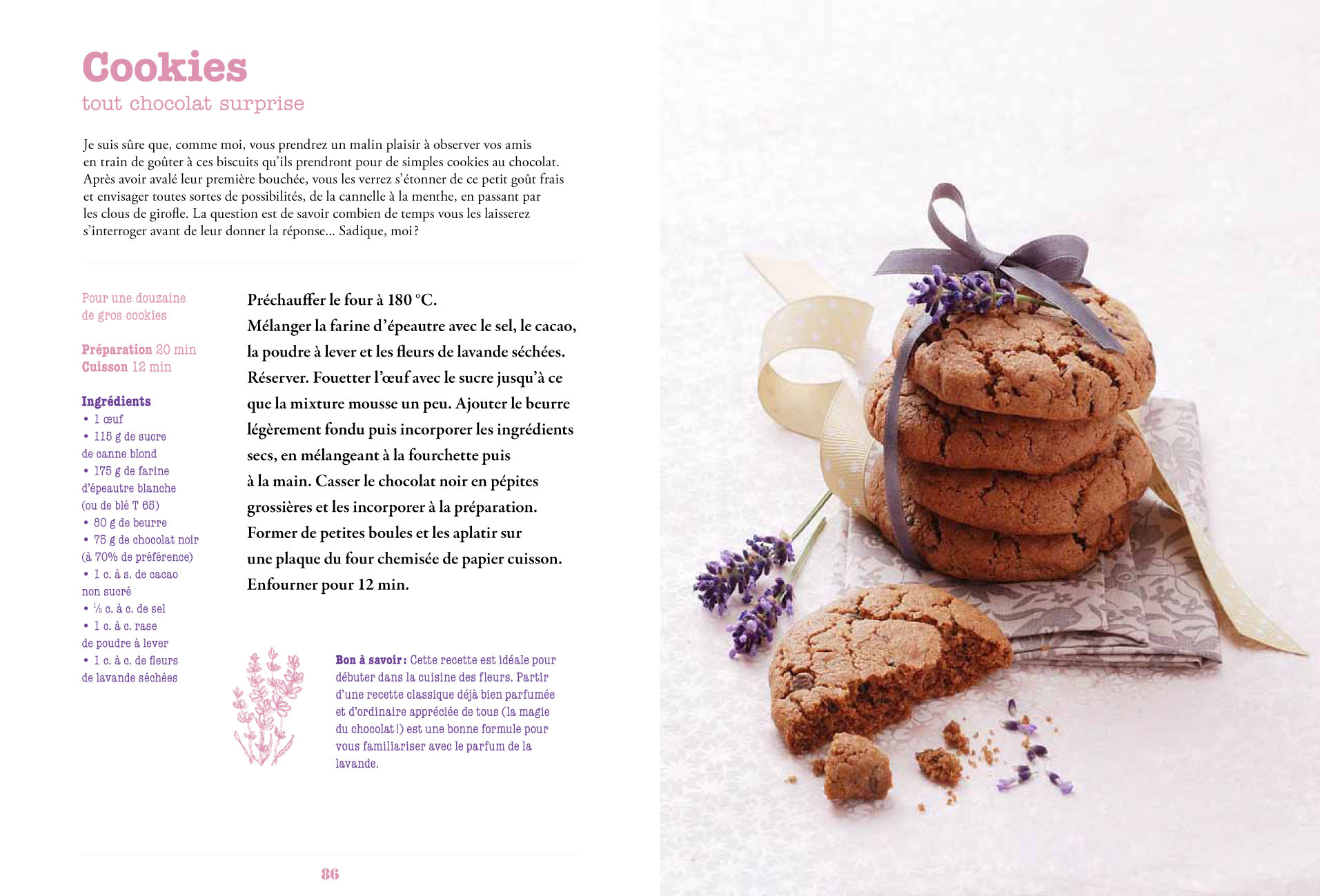 Fleurs en cuisine_Cookies