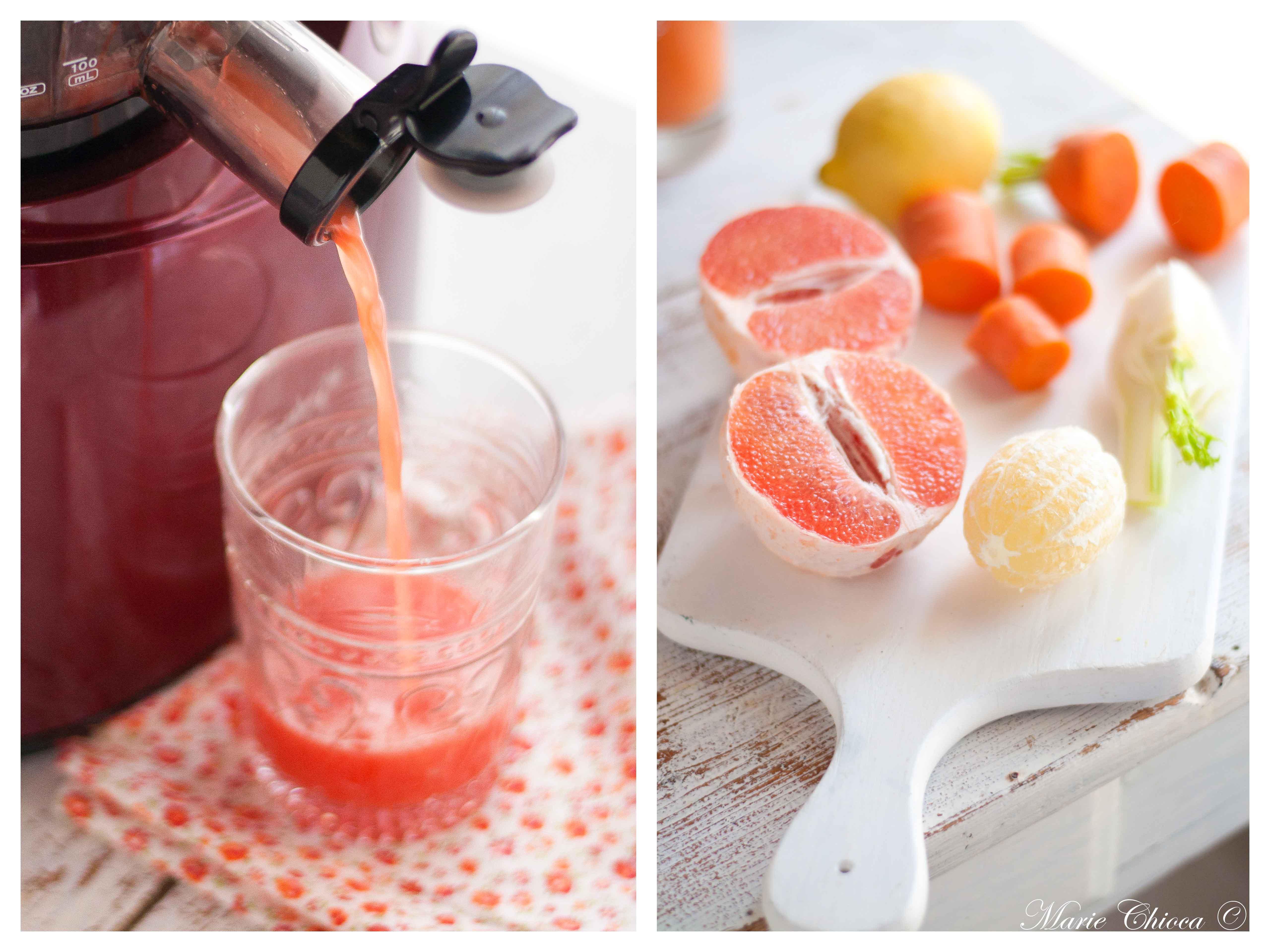 jus détox citron, pamplemousse, fenouil, carotte-2
