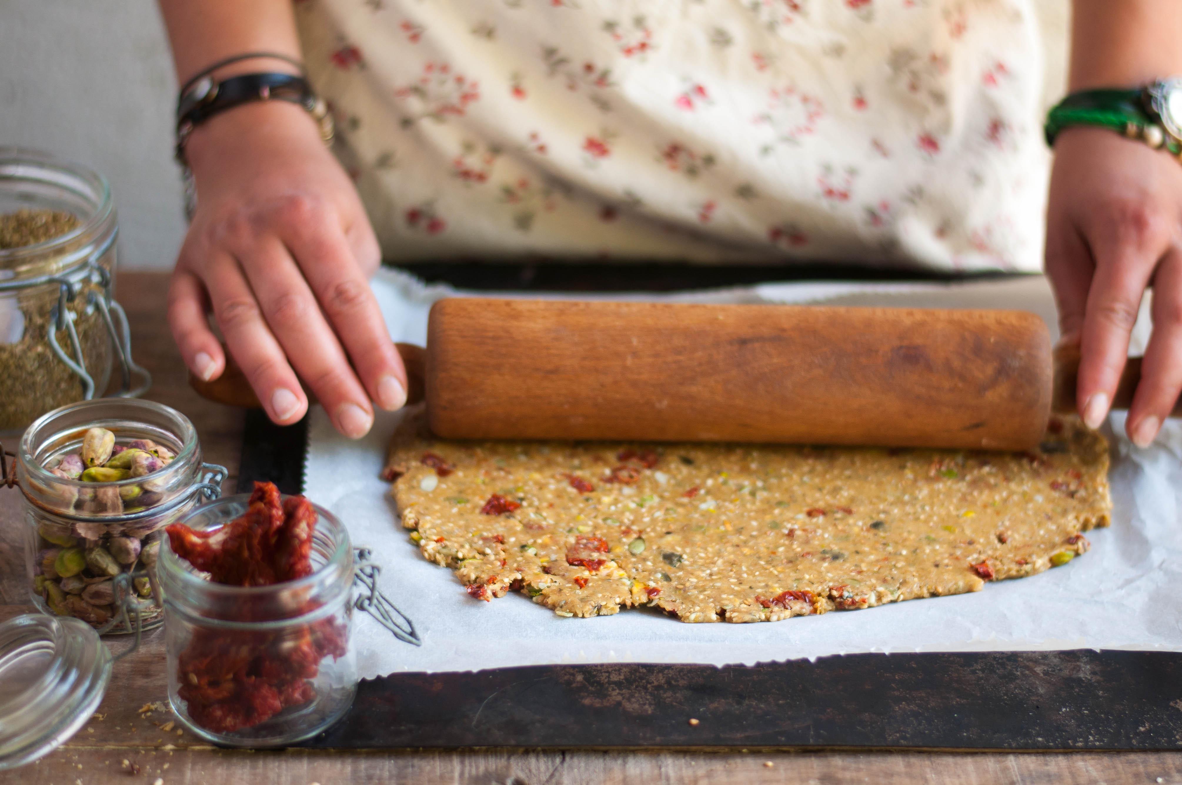 Crackers de petit épeautre aux graines (pâte 2)