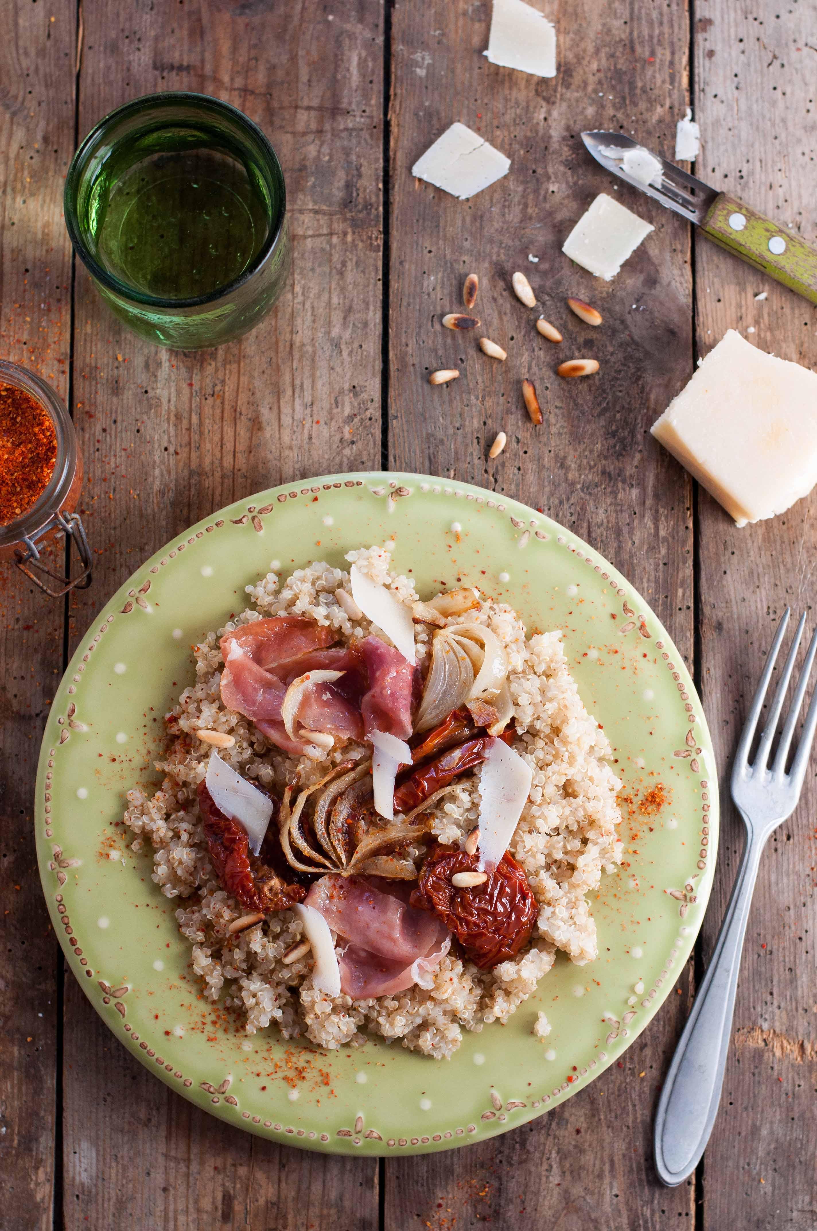 Quinoa à l'italienne IG bas