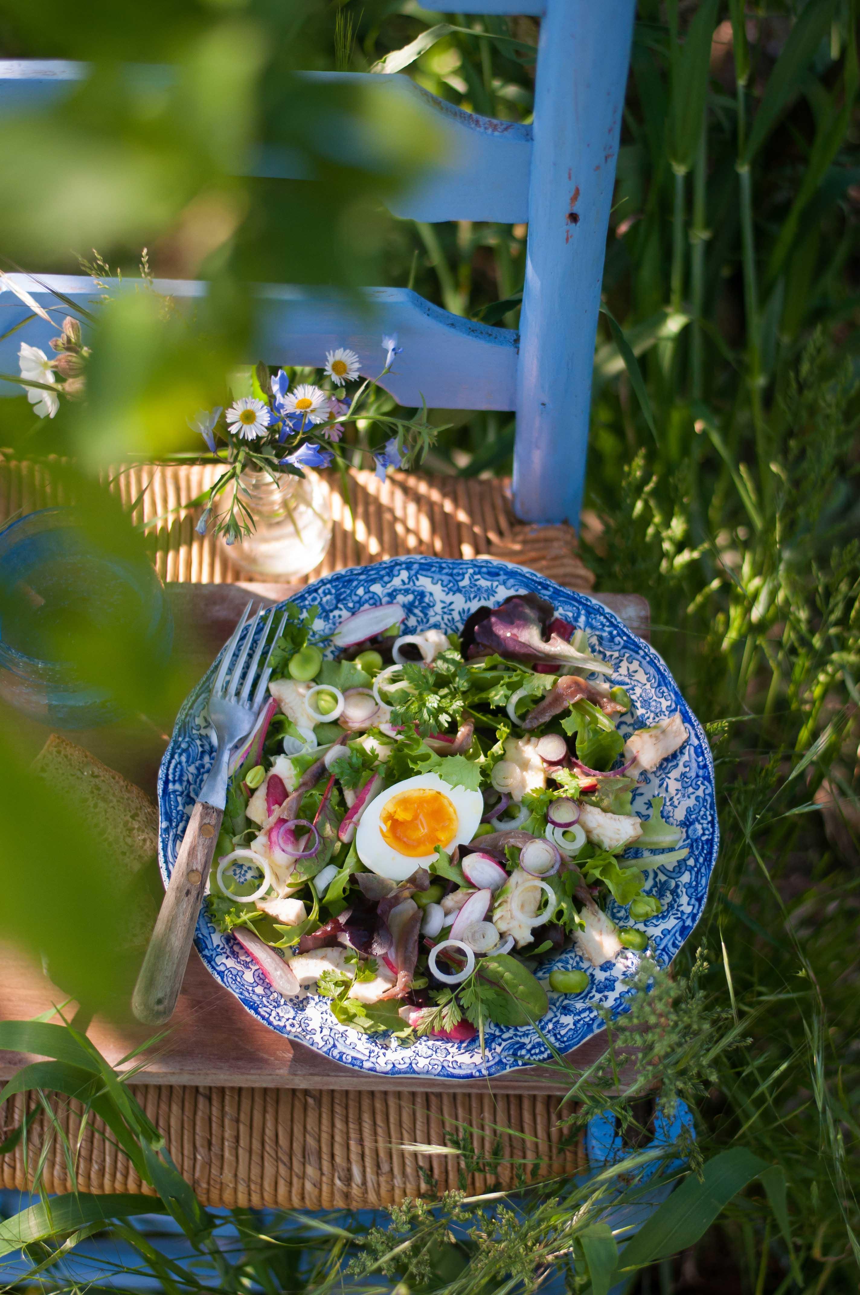 Salade printanière IG bas