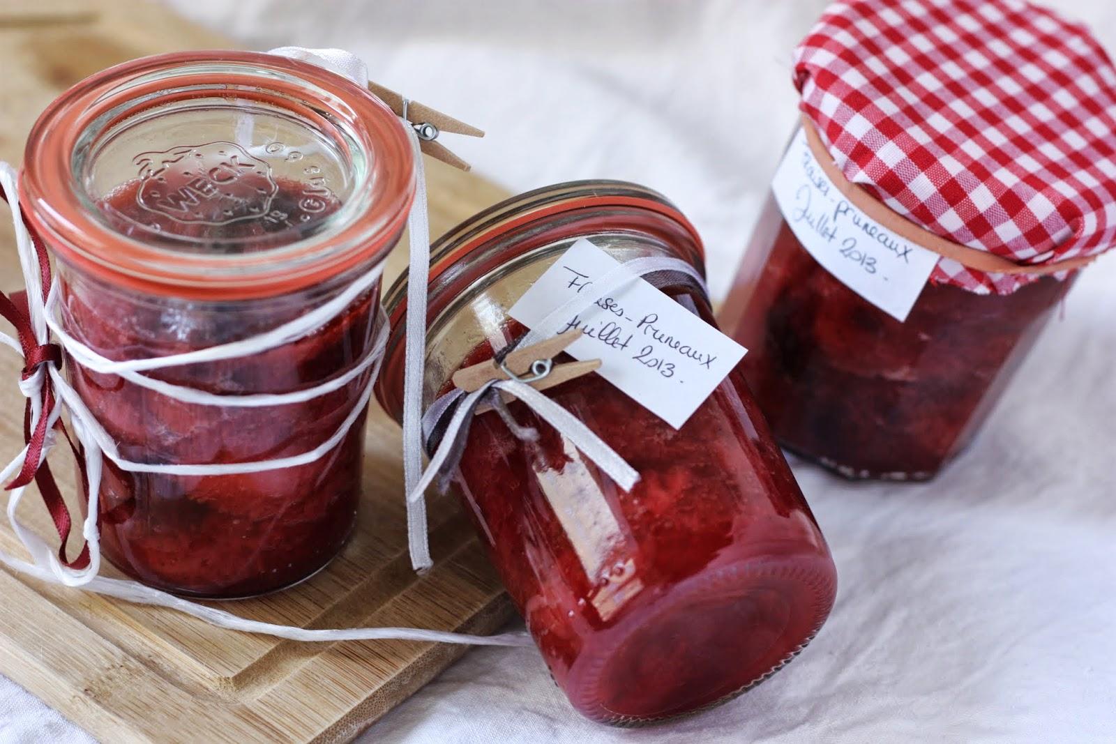 Confiture fraise-pruneaux 117