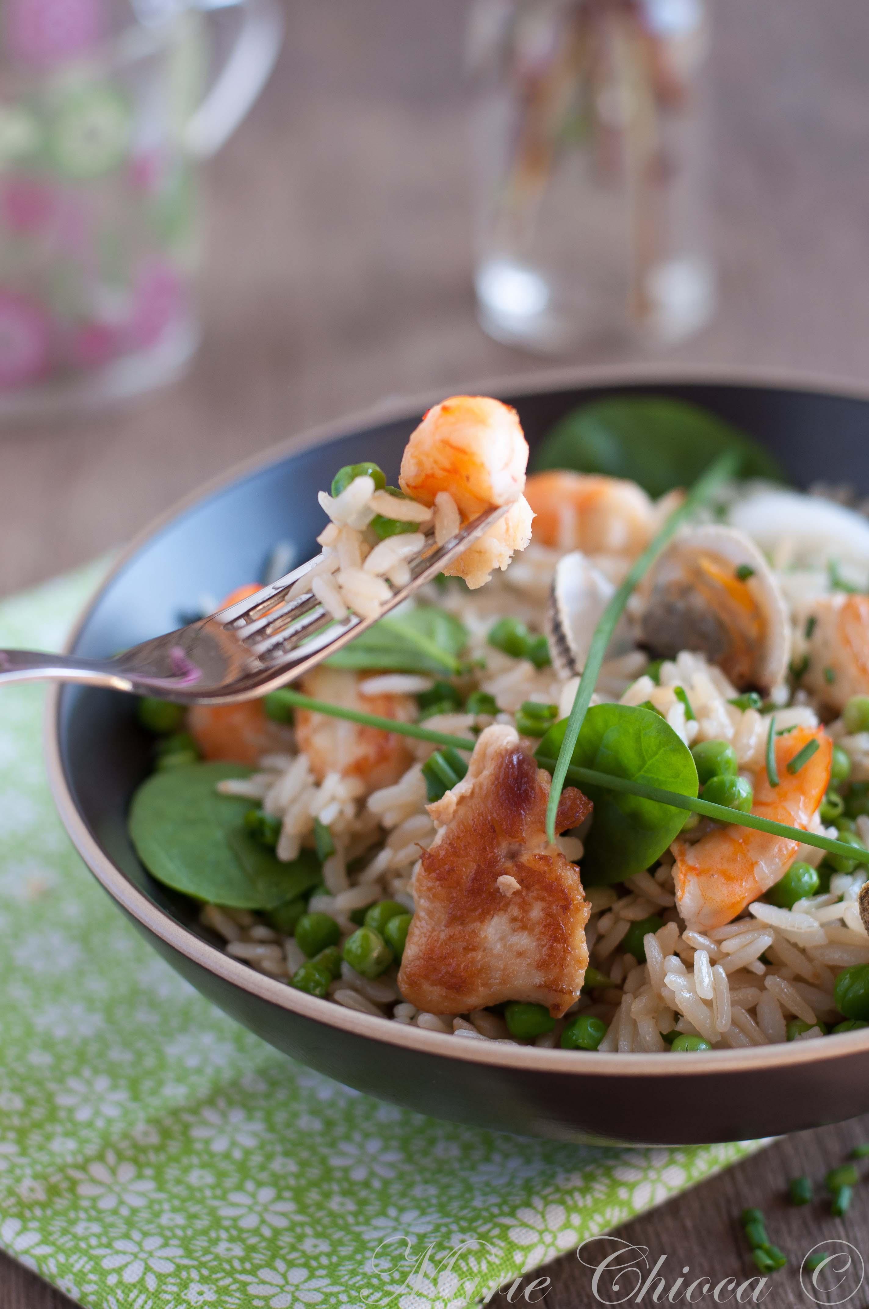 Un plat très gourmand et parfaitement équilibré, associant céréale complète  à IG bas, protéines