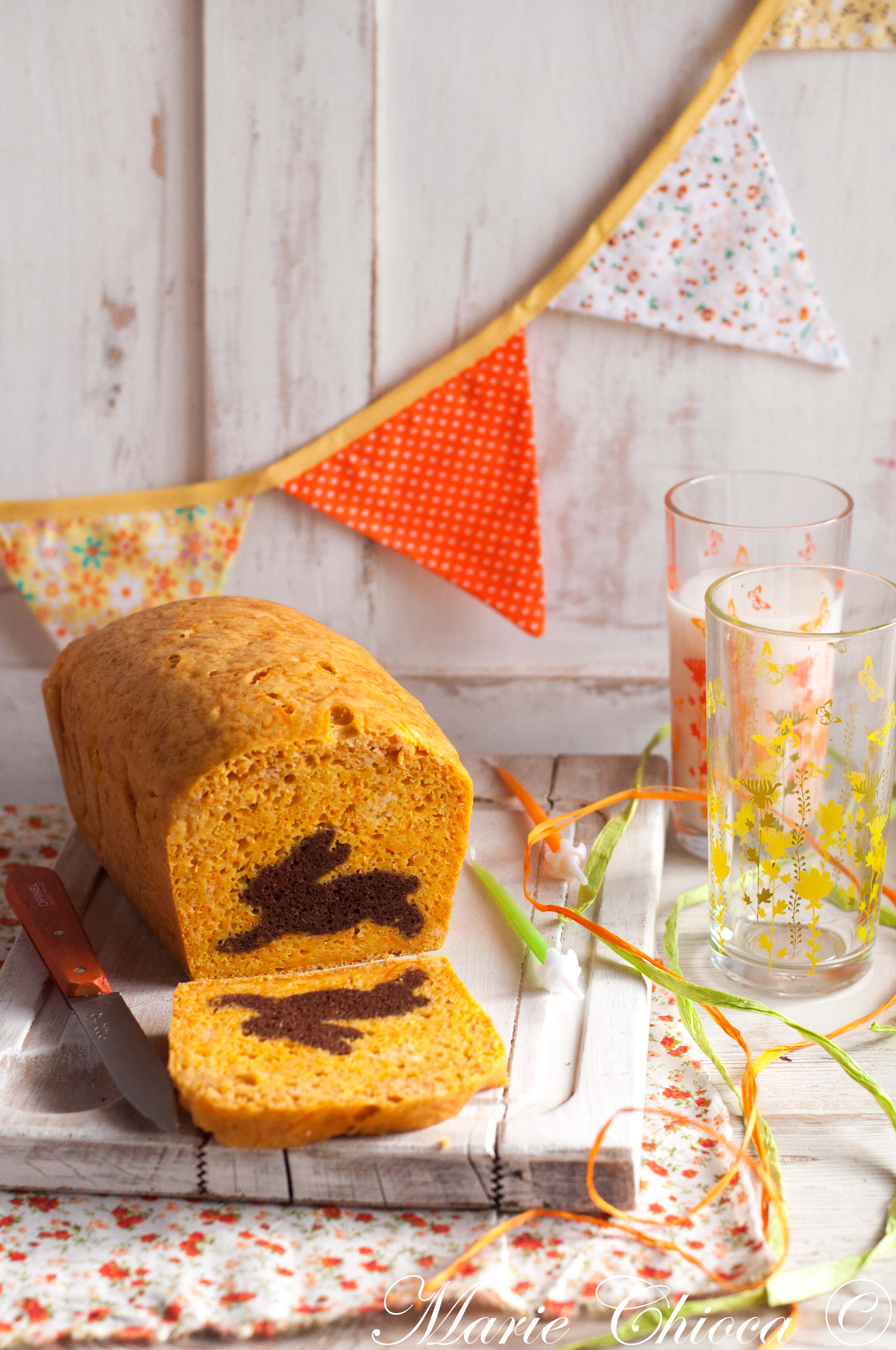 Carrot cake surprise 1