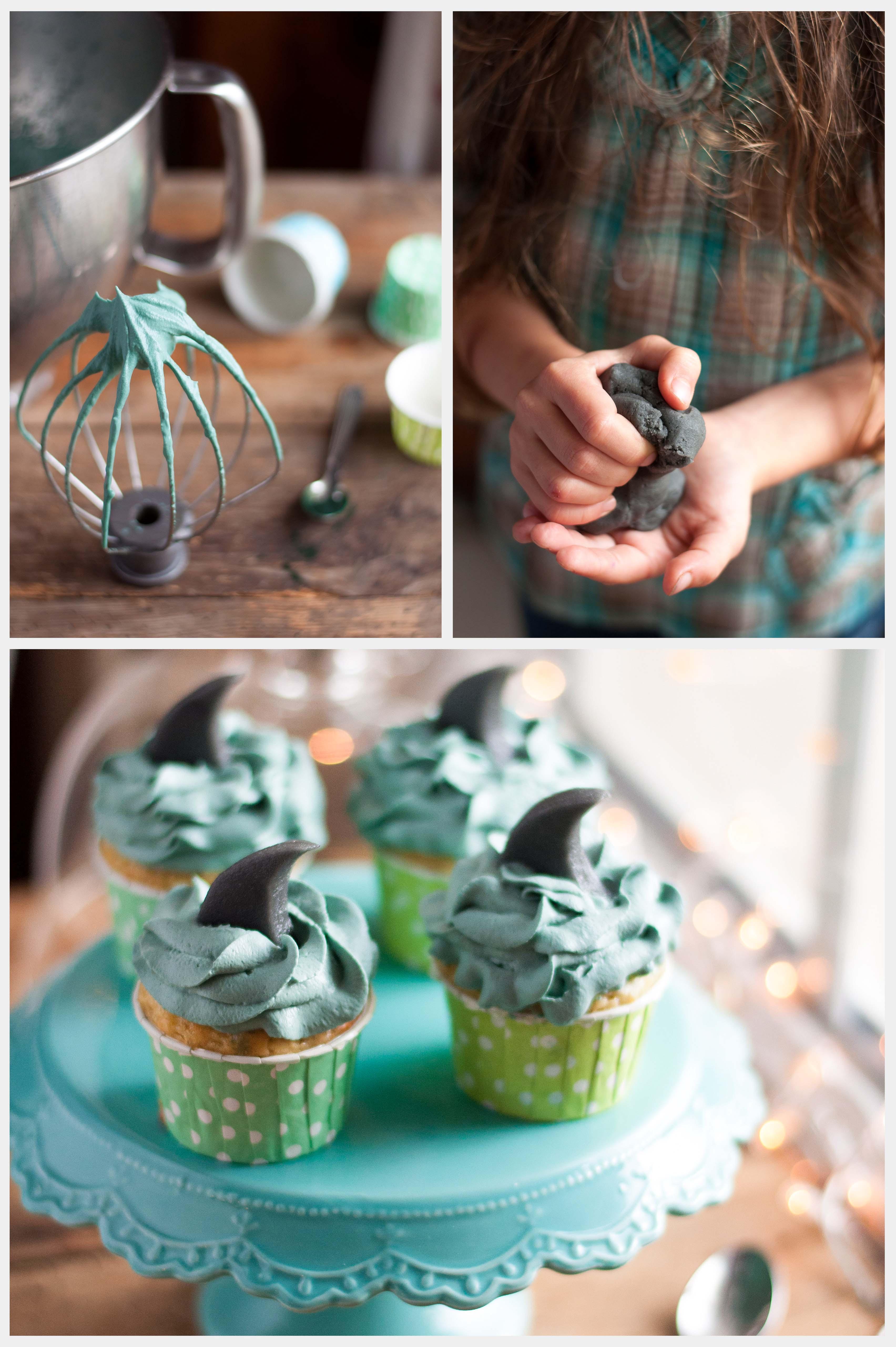 Cupcakes-requin