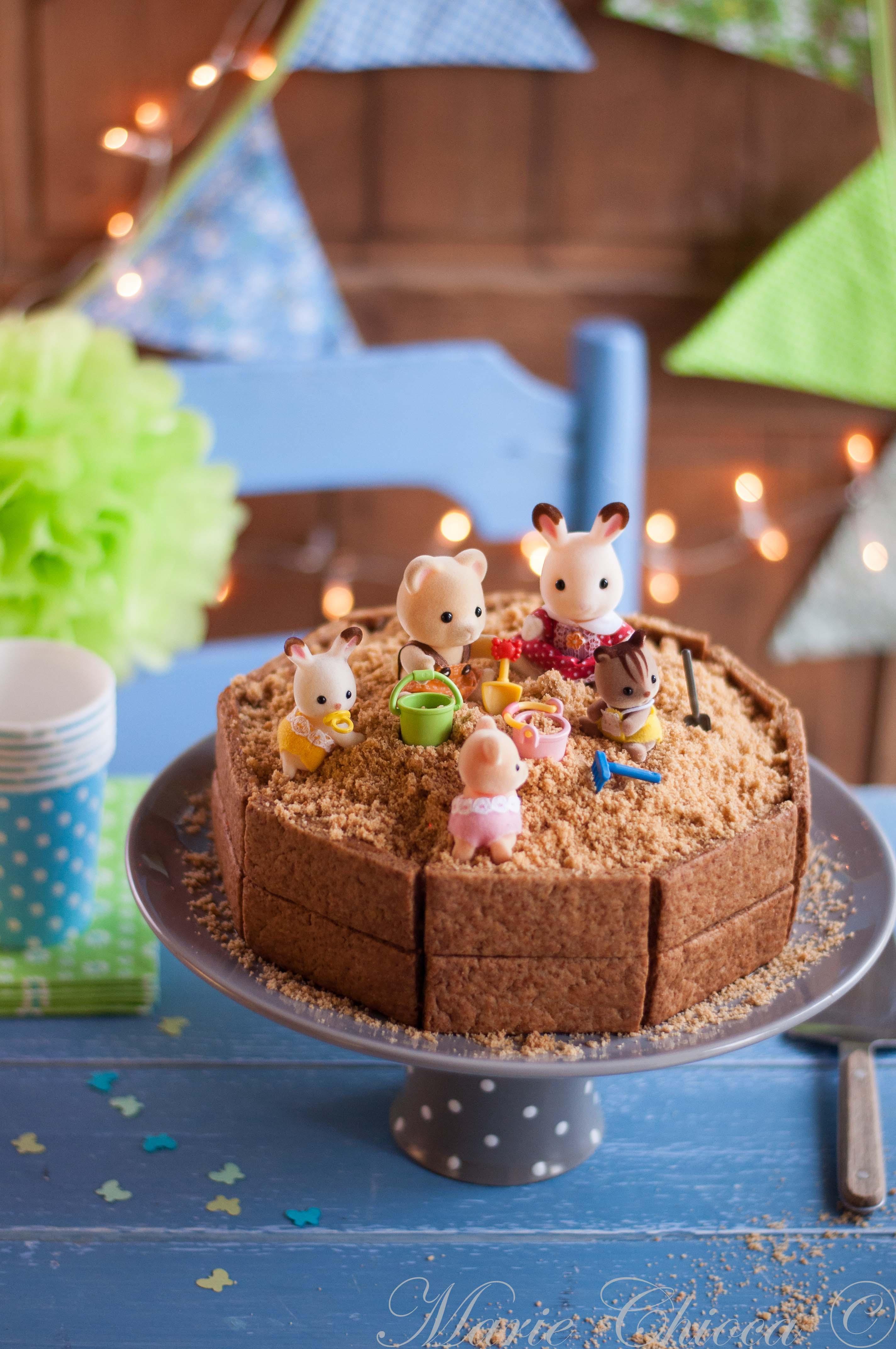 Gâteau Bac à Sable