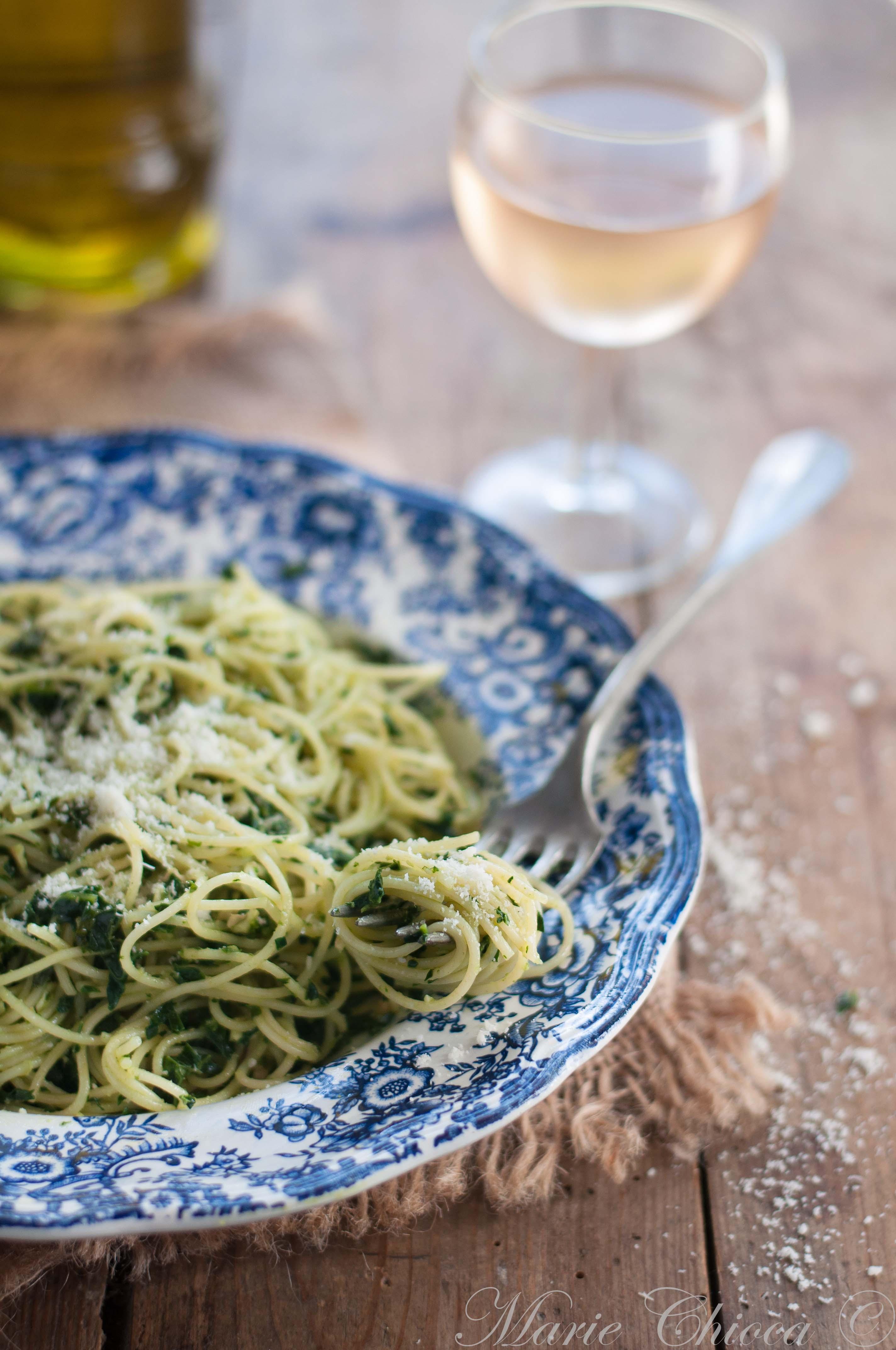 Spaghettis au Pesto de Cavolo Nero 7