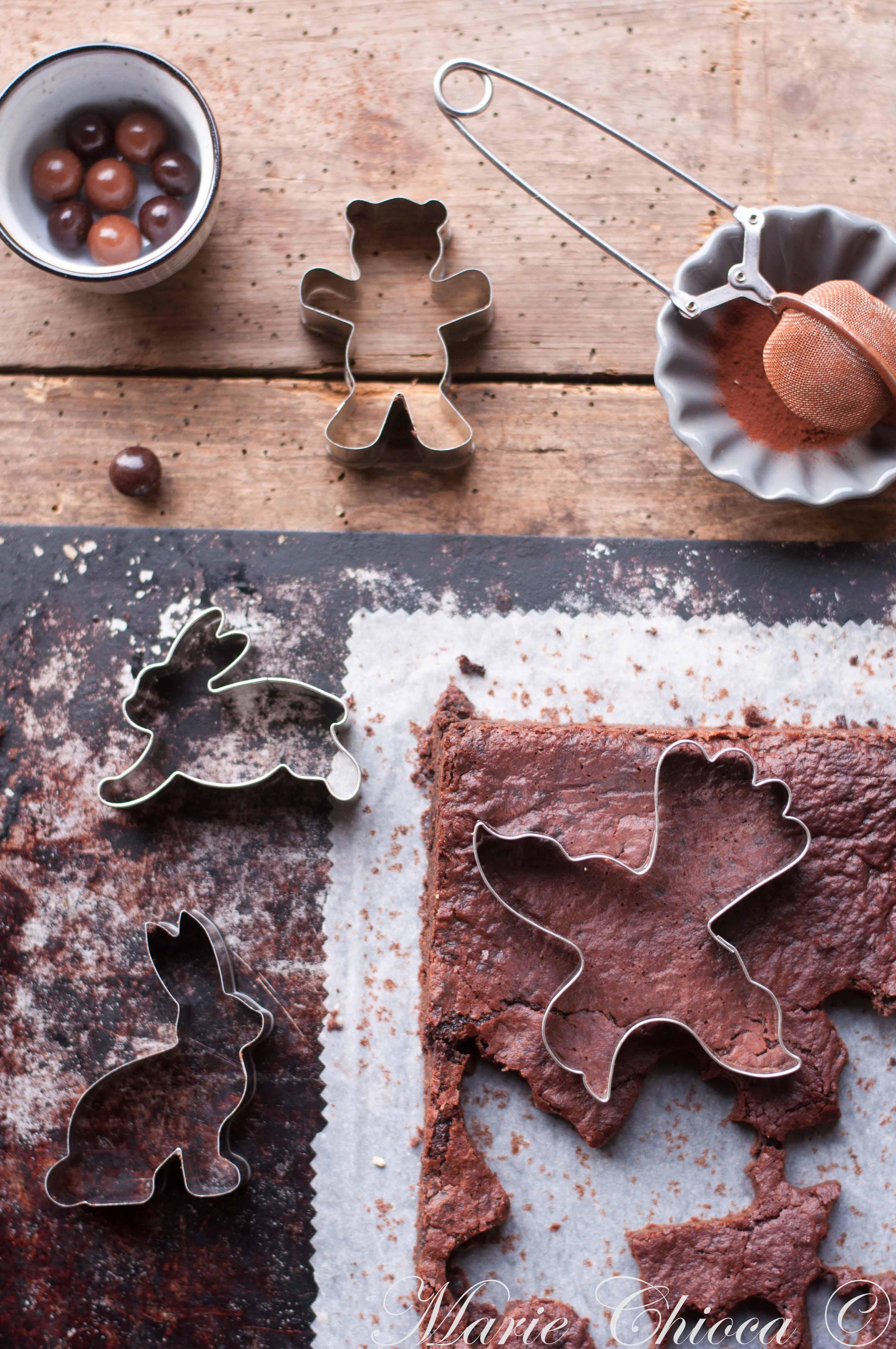 """Brownies de Pâques """"Forêt-Noire""""2"""