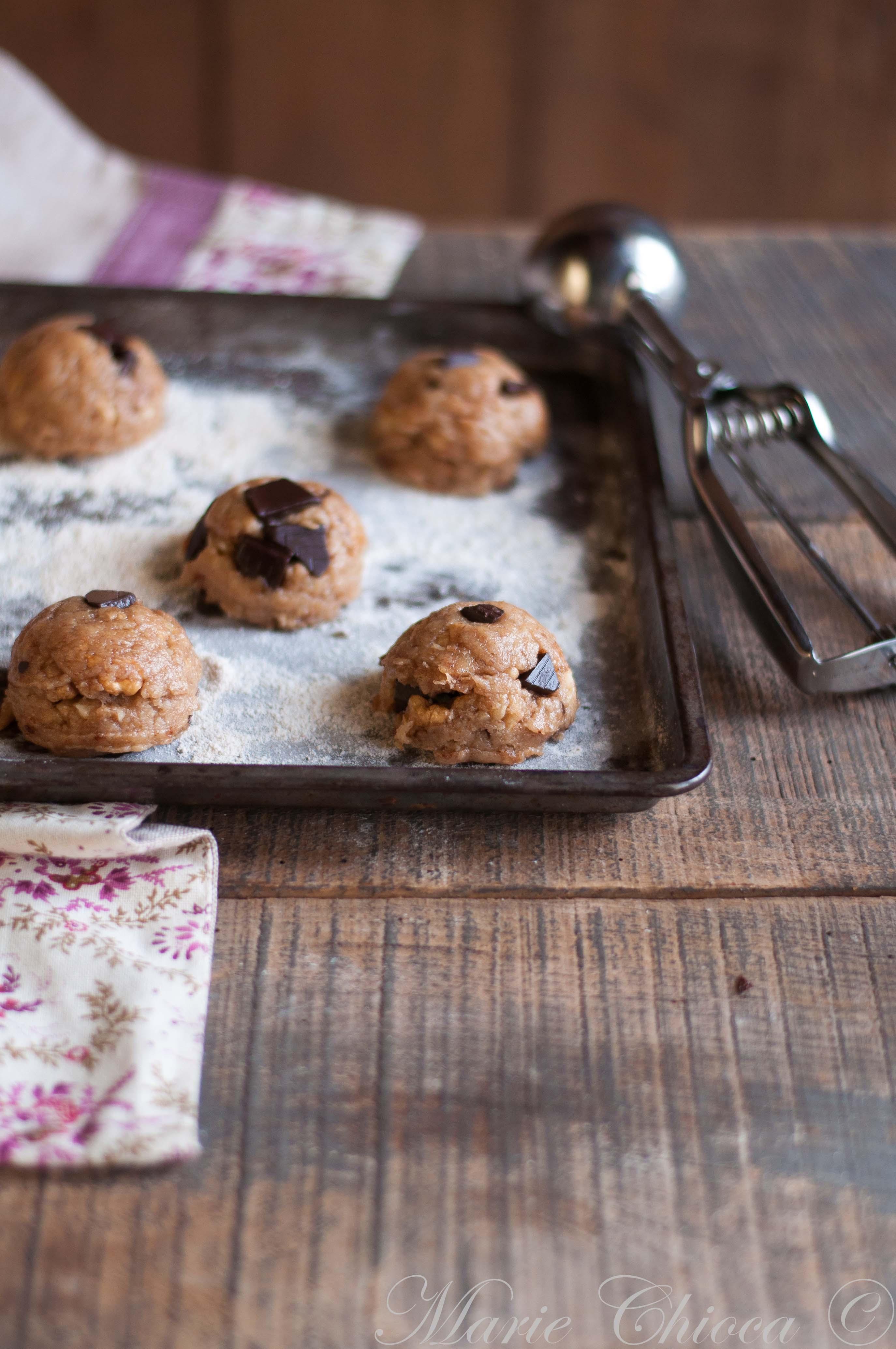Cookies à la cuillère à glace