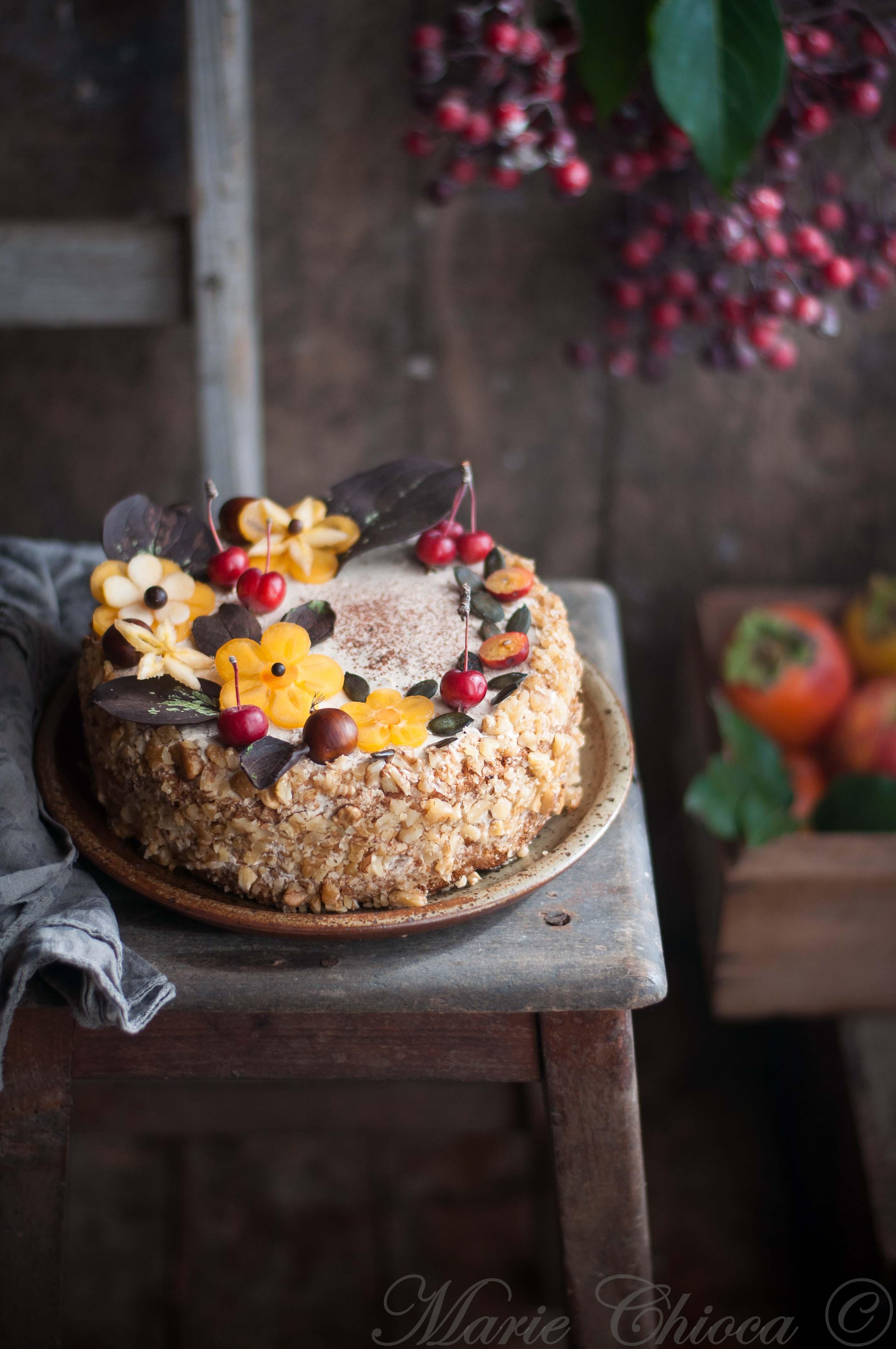 gâteau automne IG bas